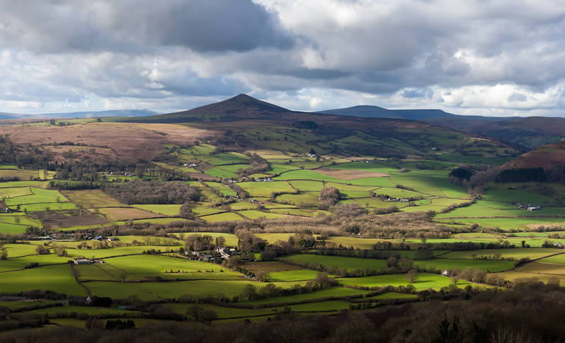 Abergavenny SUgar Loaf Mountain